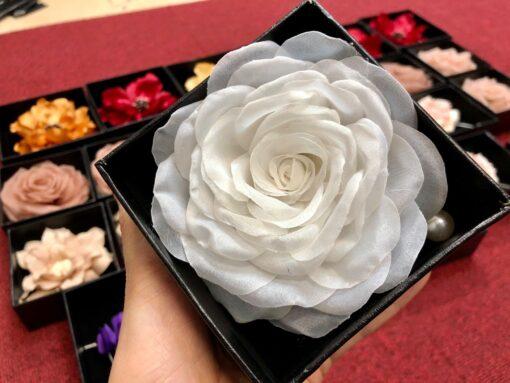 Hồng Hàn Quốc màu trắng: 170k